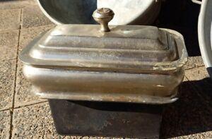 altes Wasserschiff für Küchenofen Küchenherd gebraucht