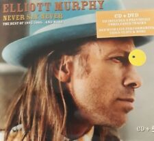 ELLIOT MURPHY- NEVER SAY NEVER- BEST OF 95/05 AND MORE *CD/DVD NEW SEALED RARO