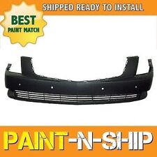 NEW Fits: 2006 2007 Cadillac DTS W/ Snsr Front Bumper Painted GM1000813