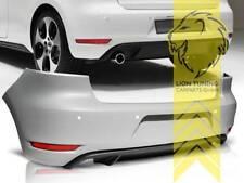 Heckstoßstange Heckschürze für VW Golf 6 Limousine GTi Optik für PDC