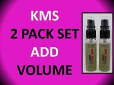 2 PACK! KMS CALIFORNIA ADD VOLUME VOLUMIZING HAIR SPRAY 1 OZ BRUSHABLE HOLD BODY