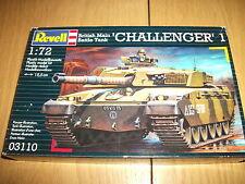 Revell - British principal BATALLA tabk Challenger 1 - Kit Construcción - 1:72