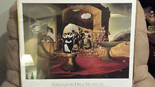 Salvador Dali Museum Slave Market Disappearing Bust of Voltaire Framed & Matted