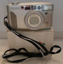 Samsung Maxima Zoom 170 GLM 35mm Silver Film Camera TESTED