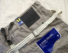 BNWT lovely G-STAR Biker Arc 3D Loose Tapered Men's Jeans - size W34 L34   (G22)