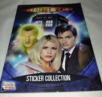 Doctor Who Sticker album : Merlin : 100% Complete