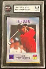 1996 Sports Illustrated For Kids #536 Tiger Woods RC Rookie Card KSA 8.5 NMM+ !