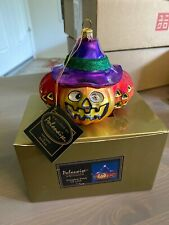 Kurt Adler Polonaise Christmas Ornament Glass Halloween Pumpkin Patch Ap 1388
