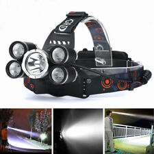 5000LM Headlamp CREE XM-L T6 LED Rechargeable Headlight w/ charger&18650battery