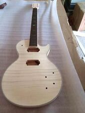 0823-1 top grade Unfinished electric guitar body with neck  Guitar DIY