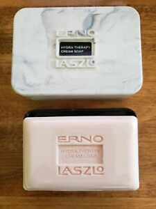 NEW ERNO LASZLO Hydra-Therapy Cream soap for body with case, 3 ounce, rare