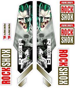 ROCK SHOX FORK Stickers Decals Mountain Bike Down Hill MTB #b01