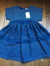 Girls Navy Blue Next Dress Age 4-5 Years