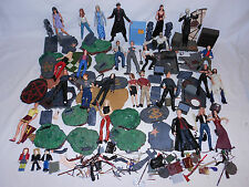 BUFFY THE VAMPIRE SLAYER 26 LOOSE ACTION FIGURES LOT SPIKE ANGEL BTVS MOORE