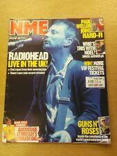 NME MAY 27 2006 RADIOHEAD PAUL WELLER NOEL GALLAGHER GUNS N ROSES ROLLING STONES