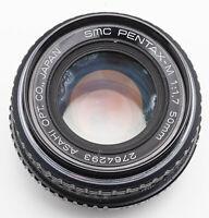 SMC Pentax-M Pentax M 1:1.7 1.7 50mm 50 mm Asahi Pentax PK