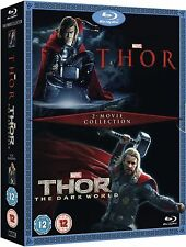 THOR / DARK WORLD Complete Movie Collection Bluray Boxset Part 1 2 New Sealed