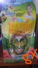 8 X Montagne Jeunesse Tea Tree Peel-off Mask 10ml. JOBLOT OF 8 X 10ML.