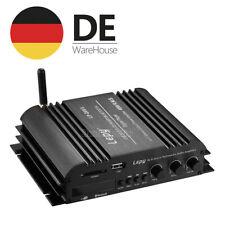 HiFi Stereo Digitaler Verstärker 4-Channel Audio Bluetooth Power Amplifier USB