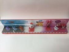 Kinder Diorama Kinderino Boys/Girls Disney Cars & Minnie Mouse China 2016 RARE