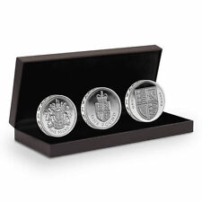 The 30th Anniversary (2013) of the £1 Silver Proof Three-Coin Set