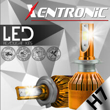 XENTRONIC 8000LM H7 LED Headlight Kit Bulbs Replace HID Halogen White Plug&Play