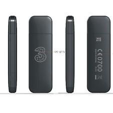Tre 3 G ZTE MF730M Ready-To-Go 1 GB USB Dongle pagamento a servizio dati precaricati in 1 GB