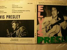 ELVIS PRESLEY Scarce limited press 2xEP EPB-1254 simulated white label promo EXC
