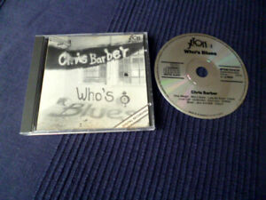 CD Chris Barber - Who's Blues Jeton 1984 Halcox Crocker Wheeler Pitt Emberson