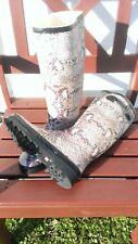 Gummistiefel Regenstiefel Snakeprint Schlangenoptik Größe 39 NEU