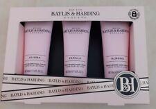 Baylis and Harding Gift Set Hand Creams Vanilla Jojoba & Almond 50ml Tubes