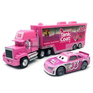 Disney Pixar Cars Tank Coat No.36 Hauler Truck 1:55 Diecast Model Loose Kid Toys