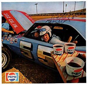 NASCAR Tiny Lund original hand signed autographed photo