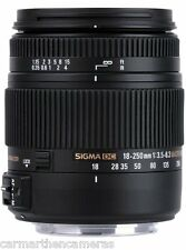 Sigma 18-250mm f/3.5-6.3 OS HSM DC Lens For Canon- GREAT ALL IN ONE LENS