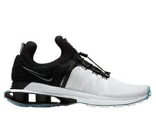 the latest 404ba 3fe52 Nike Shox Gravity Mens AR1999-101 White Black Mesh Running Shoes Size 12