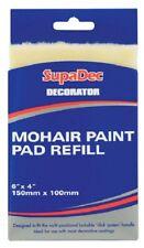 """SupaDec DECORATORE Mohair Paint Pad ricarica 6"""" x 4"""" Pittura Decorazione fai da te"""