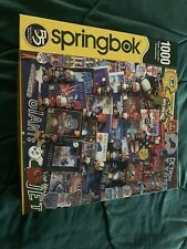 Springbok Puzzle 1000 Piece NFL Super Bowls All Pieces There!
