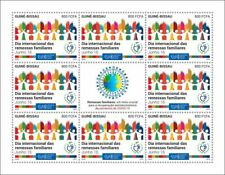 More details for guinea-bissau stamps 2020 mnh intl day family remittances upu corona 8v ms