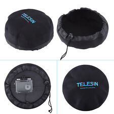 TELESIN 6'' Camera Dome Port Cover Hood Bag Pouch Protector for Gopro 5 Xiaoyi