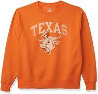 Texas Longhorns Mens Worn Angry Bevo Crew Sweatshirt