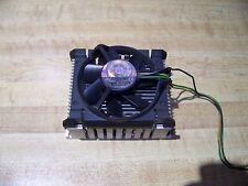 """Intel Aluminum Heat Sink & 3.25"""" Fan w/3-Pin Connector A39532-001  0.23A"""