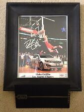 Blake Griffin Signed Photo Slam Dunk Contest Autographed Panini COA Framed