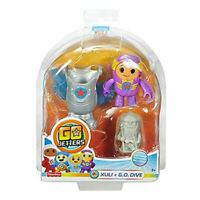 Fisher-Price Go Jetters Click-On Xuli + G.O. Dive Action Figure Toy