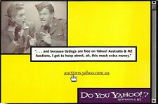 Yahoo Auctions Australia Advertisement Postcard Unposted