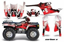 AMR Racing ATV Graphic Kit Polaris Sportsman 500 Decal Sticker 95-04 CARBON X R