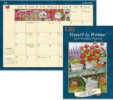 HEART & HOME - 2021 MONTHLY PLANNER CALENDAR - BRAND NEW - LANG ART 12098