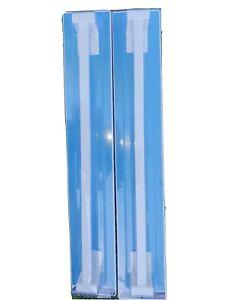 2 X Estilo Towl Rail 500mm, White. Easy Stick On Installation