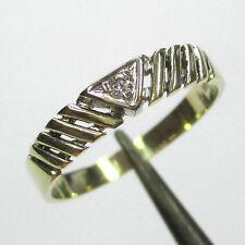 981 - Aparter Ring aus Gelbgold 585 mit Brillant - 2063