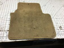 04-08 OEM Acura TL rear right carpet floor mat rug tan beige