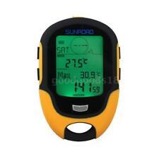 Sunroad FR500 LCD Altimètre Numérique Baromètre Boussole Thermomètre LED H0S4